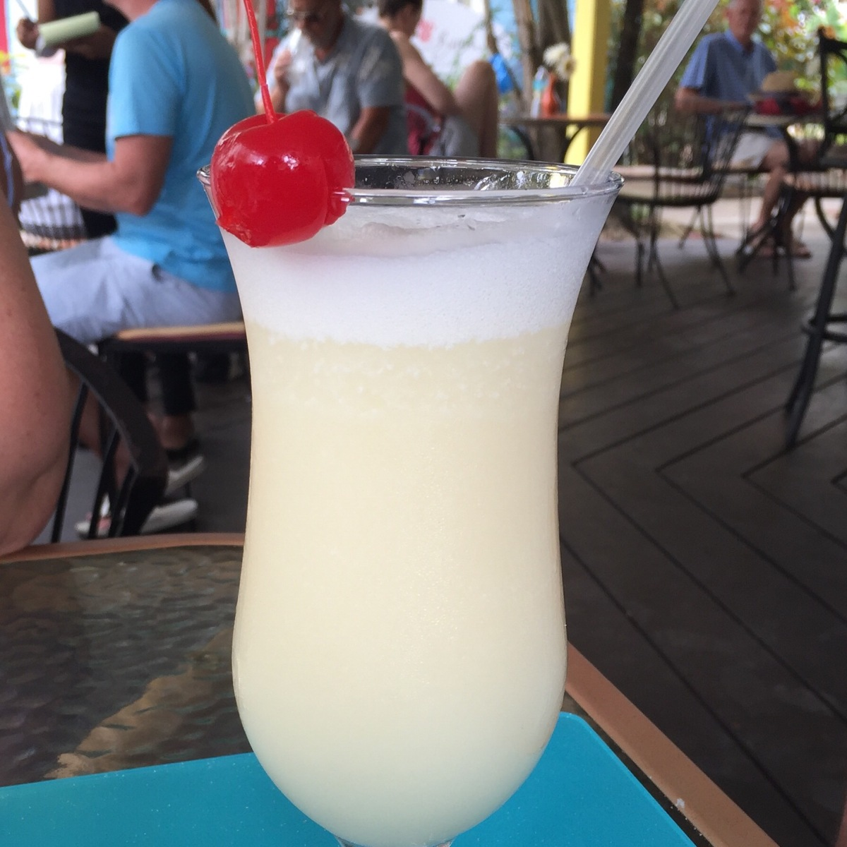 Pina Colda Cocktail